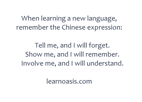 Learning language online