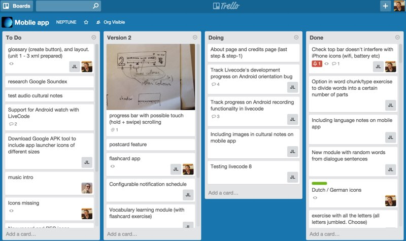 HandsOnTurkish Trello Dev